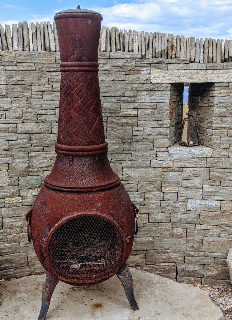 Paradise Stone with Chiminea