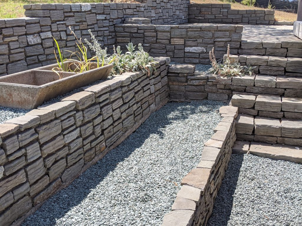 Paradise Stone Walling and Steps