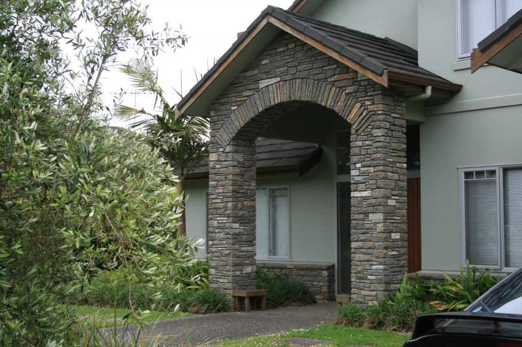 Paradise Stone used for Main Entrance to House