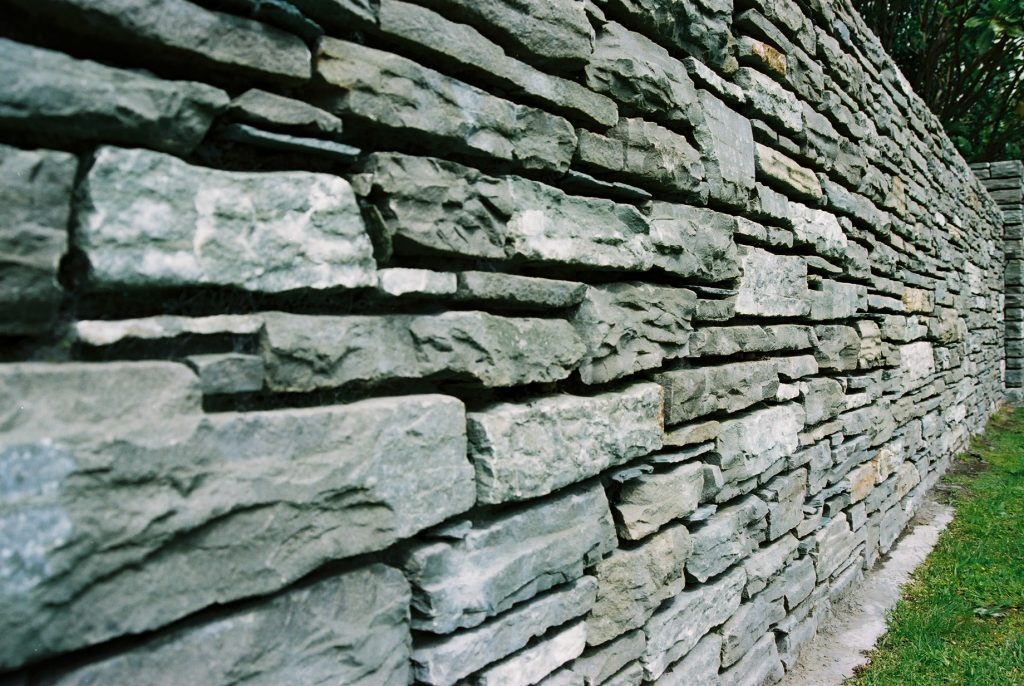Paradise Stone Walling close up