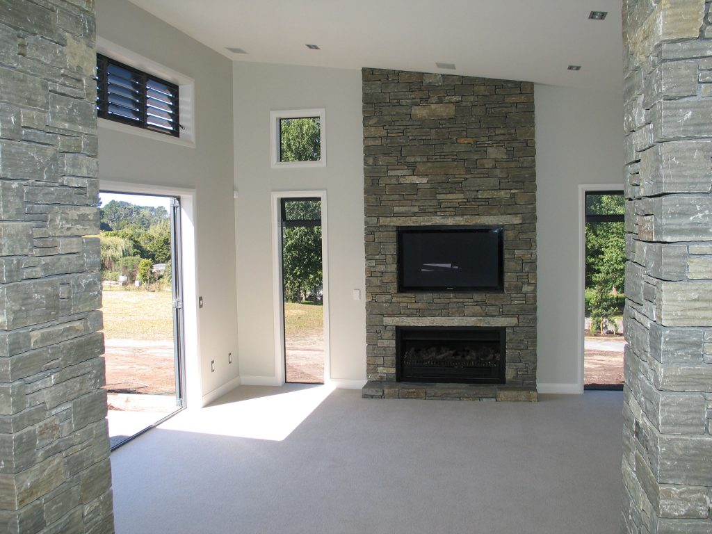Paradise Stone internal fireplace