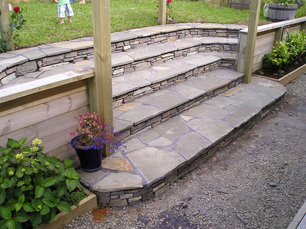 Paradise Stone Garden Steps