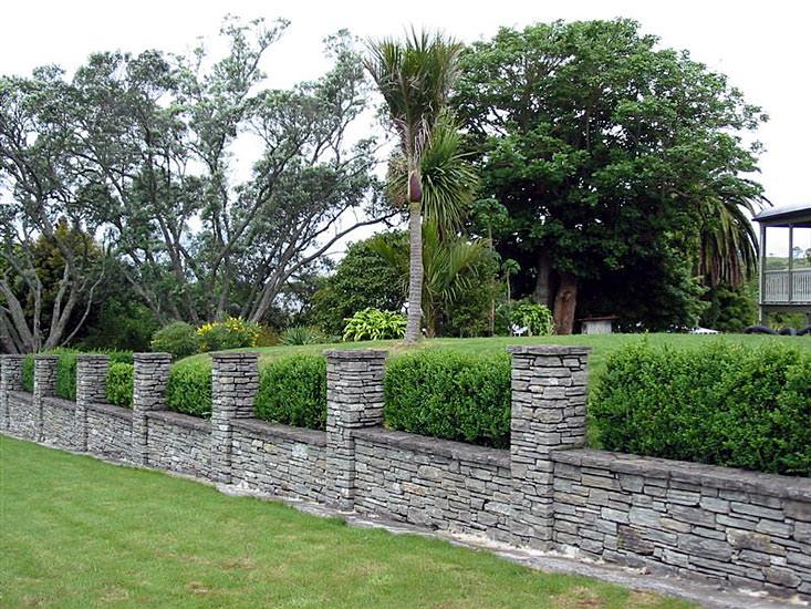 Paradise Stone Boundary Wall